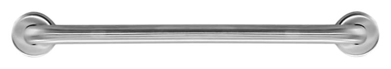15054.80.B хром, глянцевыйАксессуары для общественных санузлов<br>Поручень прямой Nofer 15054.80.B из нержавеющей стали AISI 304, толщиной 1,5 мм. Две точки крепления, расстояние между центрами крепления 800 мм, диаметр трубы 32 мм. Рекомендуемая высота установки 700 - 750 мм от пола. Подходит для поддержки в туалетах, биде, душевых кабинах и ваннах. Предназначен для туалетов, приспособленных для людей с ограниченными возможностями. Долговечен и устойчив к коррозии, легко очищается и прост в монтаже. Цена указана за поручень и комплект креплений. Все остальное приобретается дополнительно.<br>