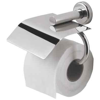 Держатель для туалетной бумаги Nofer Brass 16361.B Хром