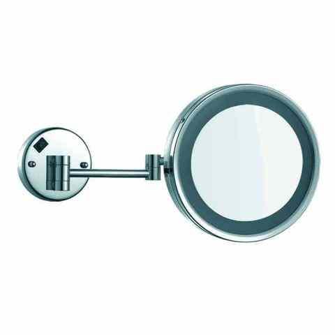 Brass 08010 ХромАксессуары для ванной<br>Зеркало для ванной Nofer Brass 08010 каркасное, хром<br>