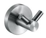 Niza 16852.S ХромАксессуары для ванной<br>Крючок для ванной Nofer Niza 16852.S двойной, хром<br>