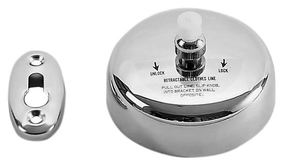 09058.В хром, глянцевыйАксессуары для ванной<br>Нить бельевая Nofer 09058.В для установки между двумя торцевыми стенками на балконе или в ванной комнате. Кронштейны для крепления изготовлены из нержавеющей стали, с глянцевой поверхностью, двухметровая нить  - из нейлона. Для установки нужно вытянуть нить, удерживая нажатой клавишу. Диаметр 90 мм, глубина 55 мм. Цена указана за бельевую нить и комплект крепления. Все остальное приобретается дополнительно.<br>