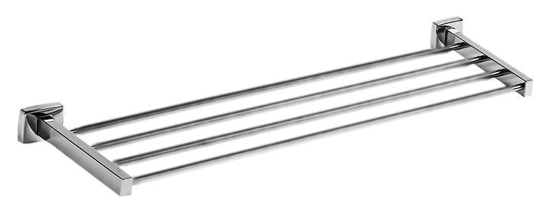 Classic 09034.B хром, глянцеваяАксессуары для ванной<br>Настенная полка для полотенец Nofer Classic 09034.B из нержавеющей стали AISI 304, с глянцевой поверхностью. Скрытое крепление. Долговечна и устойчива к коррозии, легко очищается и проста в монтаже. Ширина полки 650 мм. Подходит для общественных помещений. Цена указана за полку для полотенец и комплект крепления. Все остальное приобретается дополнительно.<br>
