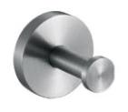 Крючок для ванной Nofer Niza 16851.S Хром 16851 60010 16851 60014 for kubota fuel shut off solenoid b7410d bx1500d bx1800d bx1830d bx2230d