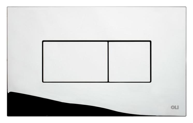Karisma 641004 хром, глянцеваяИнсталляции<br>Кнопка двойного смыва Oli Karisma 641004 пневматическая, из ABS пластика, цвета хром с глянцевой поверхностью. Сила нажатия &lt;20N. Подходит к инсталляциям с пневматикой: Oli Pneumatic Oli74 Plus, Oli Pneumatic Expert Evo, Oli Pneumatic Diamante Evo. Цена указана за кнопку смыва, крепежную раму и два фиксирующий винта. Все остальное приобретается дополнительно.<br>