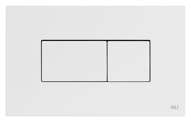 Karisma 641001 белаяИнсталляции<br>Кнопка двойного смыва Oli Karisma 641001 пневматическая, из ABS пластика, белая. Сила нажатия &lt;20N. Подходит к инсталляциям с пневматикой: Oli Pneumatic Oli74 Plus, Oli Pneumatic Expert Evo, Oli Pneumatic Diamante Evo. Цена указана за кнопку смыва, крепежную раму и два фиксирующий винта. Все остальное приобретается дополнительно.<br>