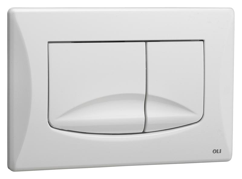 River Dual 638501 белаяИнсталляции<br>Кнопка смыва Oli River Dual 638501, механическая, из ABS пластика, белая. Сила нажатия &lt;20N. Подходит к инсталляциям с механикой: Oli Oli74, Oli Better, Oli Quadra, Oli Expert Evo, Oli Diamante Evo. Цена указана за кнопку смыва, крепежную раму, два фиксирующих винта и два рабочих стержня. Все остальное приобретается дополнительно.<br>