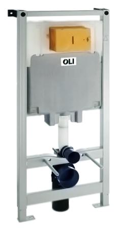 80 300573 со смывным бачкомИнсталляции<br>Инсталляция для подвесного унитаза Oli 80 300573 со смывным бачком, с пневматическим управлением. Совместима со всеми видами подвесных унитазов. Подходит для легких и несущих стен. Стальная рама с защитным покрытием, которое препятствует образованию коррозии, испытана нагрузкой 400 кг, легко и просто устанавливается с помощью системы Fast Fit, все необходимое для установки включено. Плавная регулировка высоты от 0 до 200 мм. Бачок скрытого монтажа совместим с пневматическими кнопками с одинарным или двойным смывом 6/3 литра (регулировка до 7/3 литра). Бесшумный клапан набора воды. Регулируемый по глубине фановый отвод для слива. Цена указана за металлическую раму, смывной бачок, крепежные элементы для рамы и унитаза, фановый отвод для слива и переходник &amp;#216;90/110, комплект соединительных патрубков для унитаза, запорный клапан G1/2. Кнопка смыва и все остальное приобретаются дополнительно.<br>