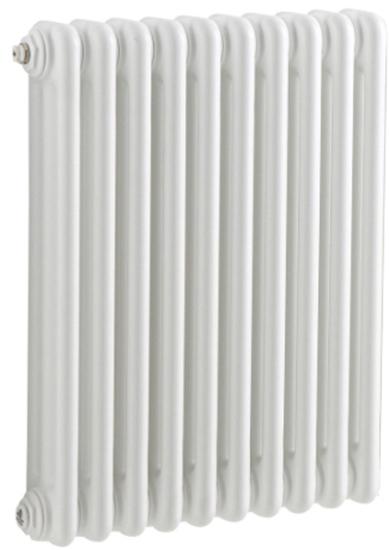 Tesi3 565 585 с боковой подводкой (код 30) (13 секций)Радиаторы отопления<br>Стальной секционный трехтрубчатый радиатор Irsap Tesi3 565. Количество секций - 13 шт. Высота секции - 567 мм. Длина одной секции - 45 мм. Теплоотдача одной секции при температуре теплоносителя 50°C - 58 Вт. Значение pH теплоносителя - от 6.5 до 8.5. Цвет - белый. В базовый комплект поставки входят. стальной радиатор, 4 подключения с переходником 1 1/4 до 1/2, комплект кронштейнов, воздухоотводчик 1/2.<br>