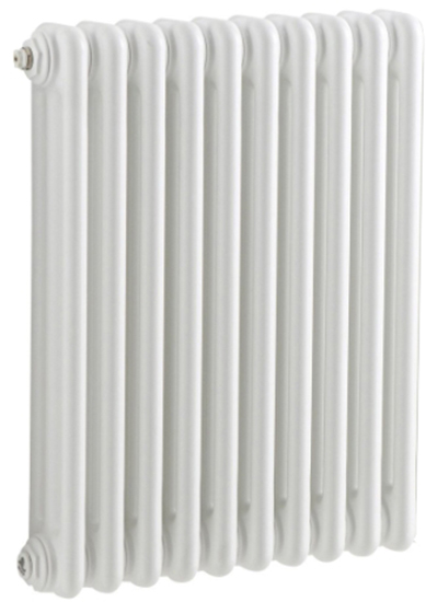Tesi3 565 1125 с боковой подводкой (код 30) (25 секций)Радиаторы отопления<br>Стальной секционный трехтрубчатый радиатор Irsap Tesi3 565. Количество секций - 25 шт. Высота секции - 567 мм. Длина одной секции - 45 мм. Теплоотдача одной секции при температуре теплоносителя 50°C - 58 Вт. Значение pH теплоносителя - от 6.5 до 8.5. Цвет - белый. В базовый комплект поставки входят. стальной радиатор, 4 подключения с переходником 1 1/4 до 1/2, комплект кронштейнов, воздухоотводчик 1/2.<br>