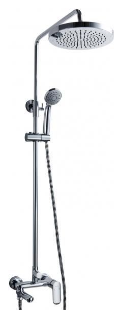 Душевая система Bravat Opal F6125183CP-A3-RUS Хром душевая система bravat waterfall f939114c a rus хром