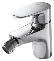 Alfa F3120178CP ХромСмесители<br>Смеситель для биде Bravat Alfa F3120178CP. Корпус латунь. Ручка цинк. Керамический картридж Kerox 35mm. Гибкая подводка 450mm M10-G1/2 SS 2шт. Аэратор Neoperl. Покрытие хром. Поток воды 8.3 л/мин при давлении 0.3 MPa.<br>