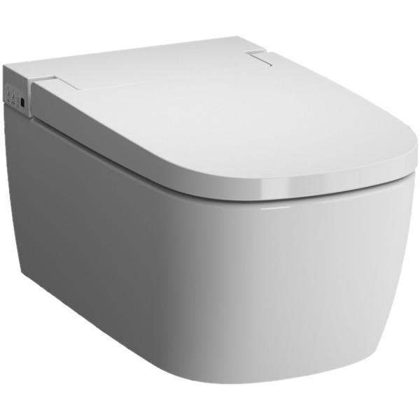 Metropole 5674B003-6103 с сиденьем МикролифтУнитазы<br>Унитаз Vitra Metropole 5674B003-6103 подвесной безободковый с функцией биде.<br>Компактная и надежная модель.<br>Особенности: <br>Бидетка с регулируемой температурой воды и съемной насадкой, облегчающей чистку унитаза,<br>Крышка-сиденье с микролифтом и настраиваемой температурой подогрева,<br>Система Vitra Fresh - специальный резервуар для моющих средств. При каждом нажатии на кнопку смыва моющее средство добавляется в воду, дополнительно очищая внутреннюю поверхность унитаза,<br>Повышенная прочность изделия: унитаз выдерживает нагрузку до 150 кг и отличается ударостойкостью, <br>Небольшие габариты позволяют существенно экономить площадь санузла, <br>Унитаз изготовлен из сантехнического фарфора. Этот материал не впитывает грязь и сохраняет белизну долгие годы. <br>В комплекте поставки: <br>Чаша унитаза,<br>Крышка-сиденье с микролифтом,<br>Пульт дистанционного управления. <br>
