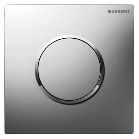 Кнопка смыва Geberit HyTouch Sigma 10 116.015.KN.1 матовый хром/обод глянцевый хром кнопка смыва geberit 115 884 sj 1 sigma 21 стекло черное глянцевый хром