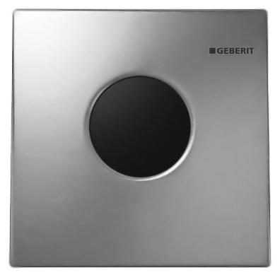 Фото - Кнопка смыва Geberit HyTronic Sigma 01 116.021.21.5 хром, глянцевая/питание от батареи кнопка смыва geberit 115 770 11 5 sigma 01 белый