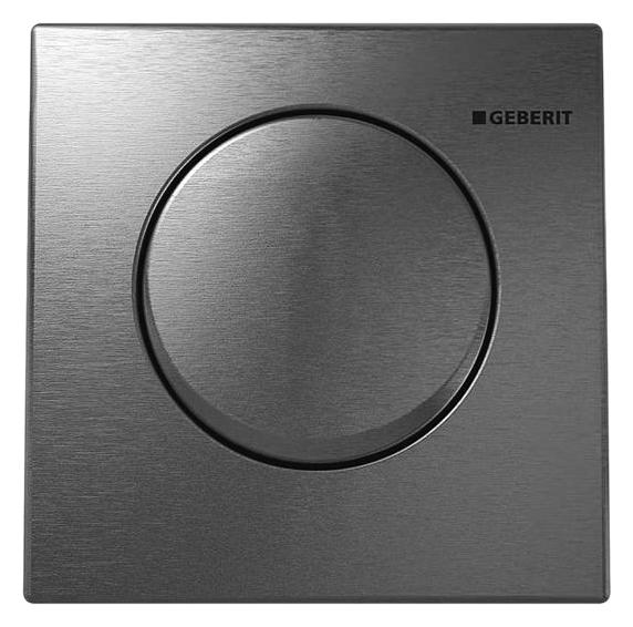 HyTouch Mambo 116.013.FW.1 полированная нержавеющая стальИнсталляции<br>Квадратная кнопка смыва Geberit HyTouch Mambo 116.013.FW.1 пневматическая, из полированной нержавеющей стали, для инсталляции для писсуара. В комплекте поставки: кнопка смыва, пневматическую систему управления кнопкой и комплект крепления.<br>