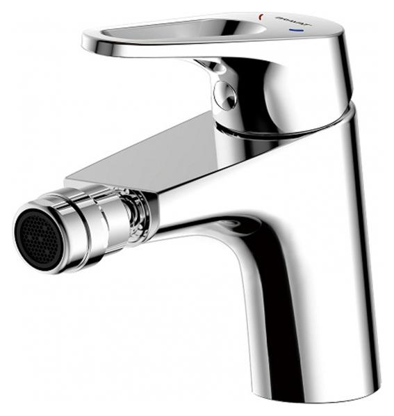Drop D F348162C ХромСмесители<br>Смеситель для биде Bravat Drop F348162C. Корпус латунь. Ручка цинк. Керамический картридж Kerox 35 мм. Гибкая подводка 450mm M10-G1/2 SS 2шт. Аэратор Neoperl. Поток воды 8.3 л/мин при давлении 0.3 MPa.<br>