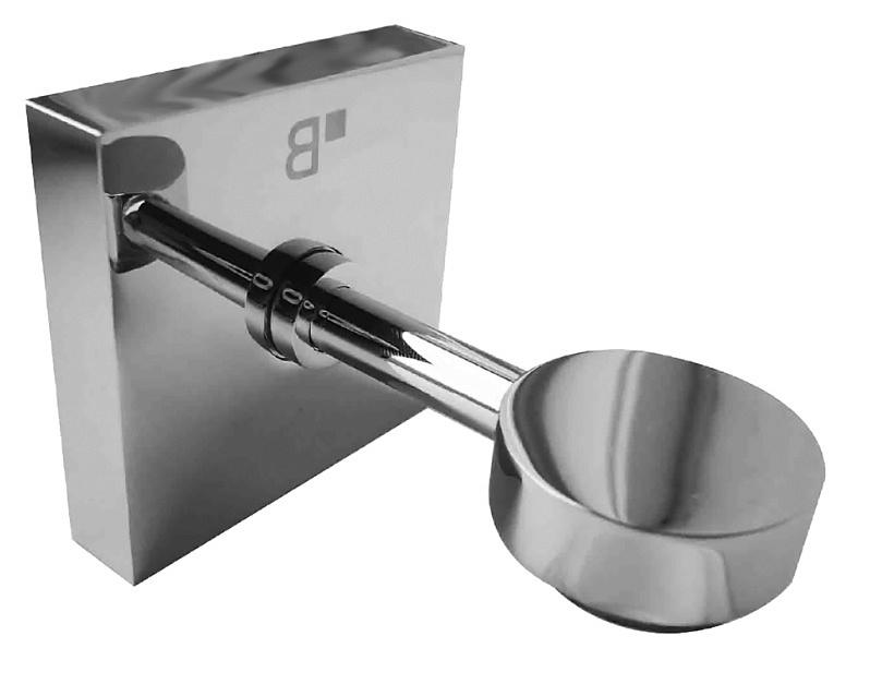 Beta 132108202 ХромАксессуары для ванной<br>Мыльница магнетическая Bemeta Beta 132108202. Настенный монтаж. Цвет хром.<br>