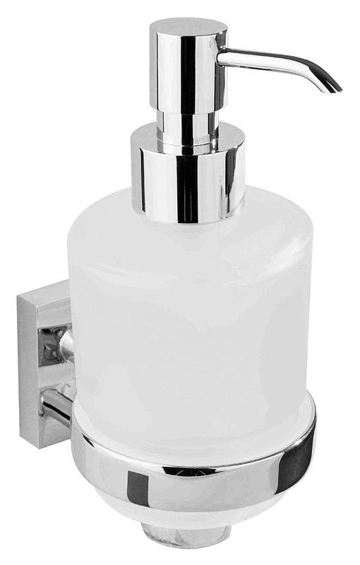 Beta 132109182 ХромАксессуары для ванной<br>Дозатор жидкого мыла с магнетической мыльницей Bemeta Beta 132109182. Подвесной монтаж. Цвет хром.<br>