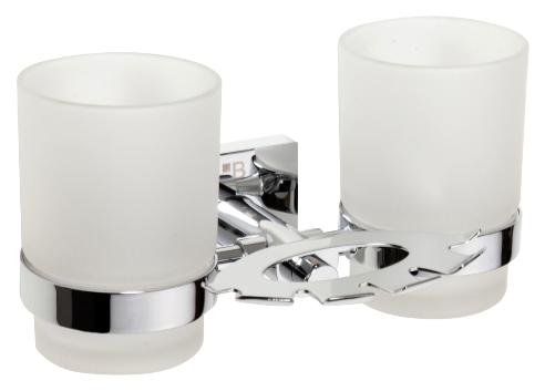 Beta 132110042 ХромАксессуары для ванной<br>Держатель зубной щетки со стаканом Bemeta Beta 132110042. Подвесной монтаж. Цвет хром.<br>