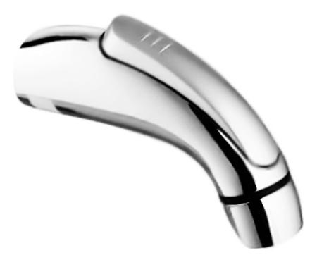 HB36 хромГигиенические души<br>Лейка для гигиенического душа Haiba HB36 из пластика с хромированным покрытием, с нажимной кнопкой. Цена указана за душевую лейку. Все остальное приобретается дополнительно.<br>