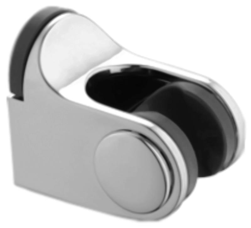 HB90 хромДушевые гарнитуры<br>Настенный держатель для лейки Haiba HB90 из пластика с хромированным покрытием. Цена указана за держатель для лейки. Все остальное приобретается дополнительно.<br>