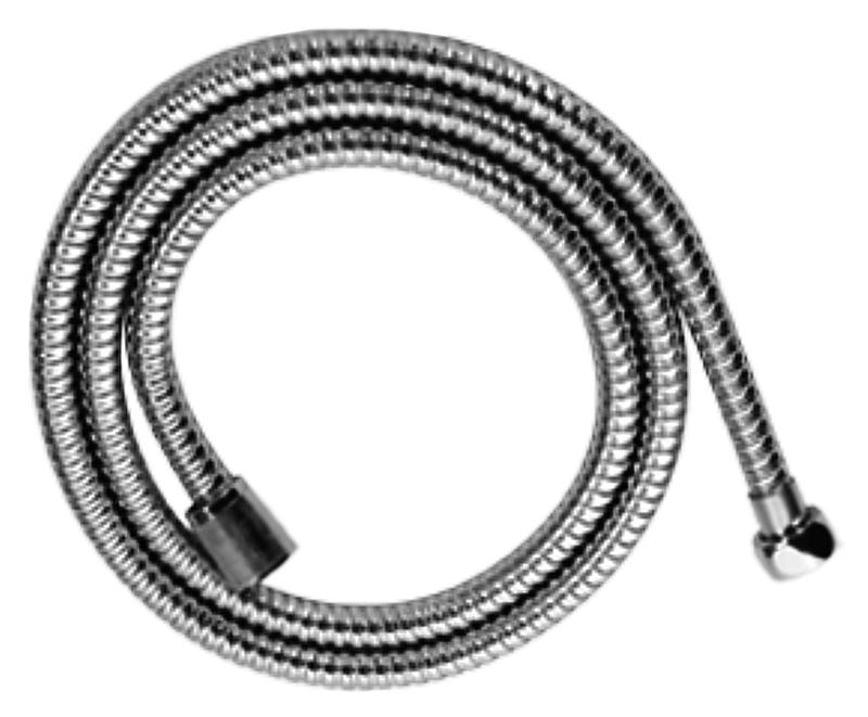 150 HB40 хромДушевые гарнитуры<br>Шланг для душа Haiba 150 HB40 из латуни, с двойной оплеткой, с хромированной поверхностью. Длина шланга 1500 мм, подключение G1/2. Цена указана за шланг для душа. Все остальное приобретается дополнительно.<br>