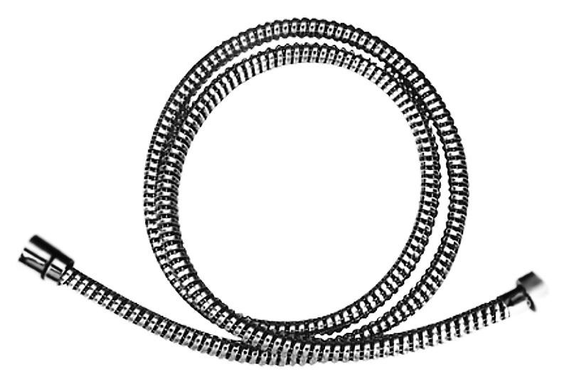 150 HB44 хромДушевые гарнитуры<br>Шланг для душа Haiba 150 HB44 из латуни, с силиконовой оплеткой, с хромированной поверхностью. Длина шланга 1500 мм, подключение G1/2. Немецкая технология. Цена указана за шланг для душа. Все остальное приобретается дополнительно.<br>