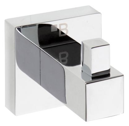 Beta 132306172 ХромАксессуары для ванной<br>Одинарный крючок для одежды Bemeta Beta 132306172.  Подвесной монтаж. Цвет хром.<br>
