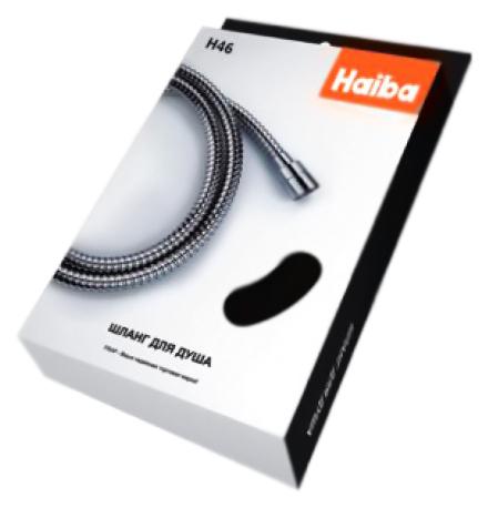 150 HB46 хромДушевые гарнитуры<br>Шланг для душа Haiba 150 HB46 из латуни, с хромированной поверхностью, в упаковке. Длина шланга 1500 мм, подключение G1/2. Цена указана за шланг для душа. Все остальное приобретается дополнительно.<br>
