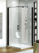 Душевой уголок New Trendy Negra Platinum 100x80 EXK-1193/EXK-1195 - фото