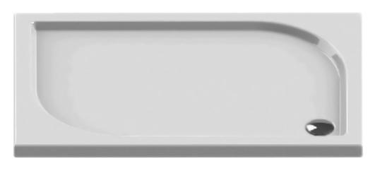 Ideo Silver 100x80 B-0322 белыйДушевые поддоны<br>Душевой поддон New Trendy Ideo Silver 100x80 B-0322 прямоугольный, из качественного акрила, на пенополистироловом носителе. Пенополистирол обладает хорошими звукоизолирующими свойствами, благодаря которым эффективно заглушается шум падающей воды. Высокая прочность на нагрузку. Диаметр сливного отверстия 90 мм. Безопасный и комфортный в использовании. Цена указана за поддон. Сифон и все остальное приобретается дополнительно.<br>
