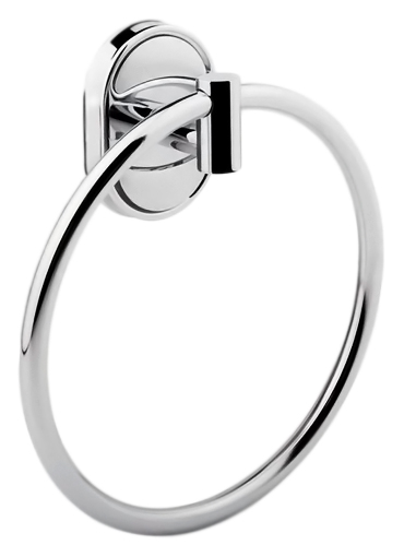 HB1904 хромАксессуары для ванной<br>Кольцо для полотенец Haiba HB1904 из хромированного металла. Цена указана за кольцо для полотенец и комплект креплений. Все остальное приобретается дополнительно.<br>