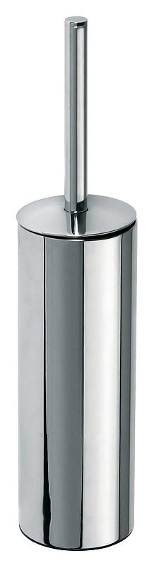 Omega 102313067 ХромАксессуары для ванной<br>Туалетная щетка с держателем Bemeta Beta 102313067. Щетка черного цвета. Подвесной монтаж.<br>