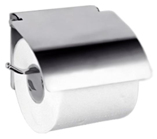 HB504 хромАксессуары для ванной<br>Держатель туалетной бумаги с крышкой Haiba HB504 из хромированного металла. Цена указана за держатель туалетной бумаги и комплект креплений. Все остальное приобретается дополнительно.<br>