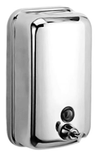 HB401 хромАксессуары для ванной<br>Настенный дозатор жидкого мыла Haiba HB401 из хромированного металла. Цена указана за дозатор жидкого мыла и комплект креплений. Все остальное приобретается дополнительно.<br>