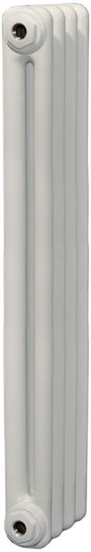 Tesi2 1800 270 с нижней подводкой (код 26) (6 секций)Радиаторы отопления<br>Стальной секционный двухтрубчатый радиатор Irsap Tesi2 1800. Количество секций - 6 шт. Высота секции - 1802 мм. Длина одной секции - 45 мм. Теплоотдача одной секции при температуре теплоносителя 50°C - 124 Вт. Значение pH теплоносителя - от 6.5 до 8.5. Цвет - белый. В базовый комплект поставки входят. стальной радиатор, 2 заглушки, комплект кронштейнов, воздухоотводчик 1/2.<br>