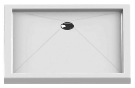 Cantare Silver 100x90 B-0169 белыйДушевые поддоны<br>Интегрированный душевой поддон New Trendy Cantare Silver 100x90 B-0169 прямоугольный, из качественного акрила. Основание поддона пол. Высокая прочность на нагрузку. Диаметр сливного отверстия 90 мм. Безопасный и комфортный в использовании. Цена указана за поддон. Сифон и все остальное приобретается дополнительно.<br>