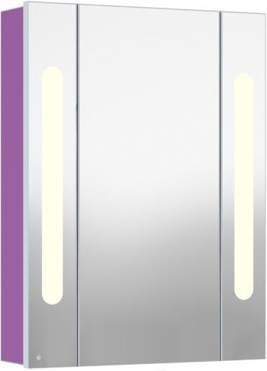 Inova 60 подвесной (левый) ФиалкаМебель для ванной<br>В цену входит подвесной зеркальный шкаф Gemelli Inova. Все комплектующие приобретаются отдельно.<br>