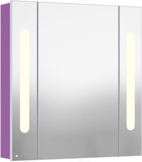 Inova 75 подвесной (левый) КрасныйМебель дл ванной<br>В цену входит подвесной зеркальный шкаф Gemelli Inova. Все комплектущие приобретатс отдельно.<br>
