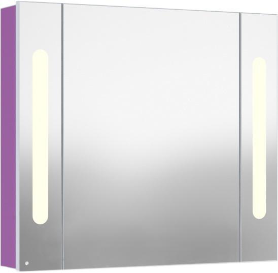 Inova 90 подвесной (левый) Насыщенный серый металликМебель для ванной<br>В цену входит подвесной зеркальный шкаф Gemelli Inova. Все комплектующие приобретаются отдельно.<br>
