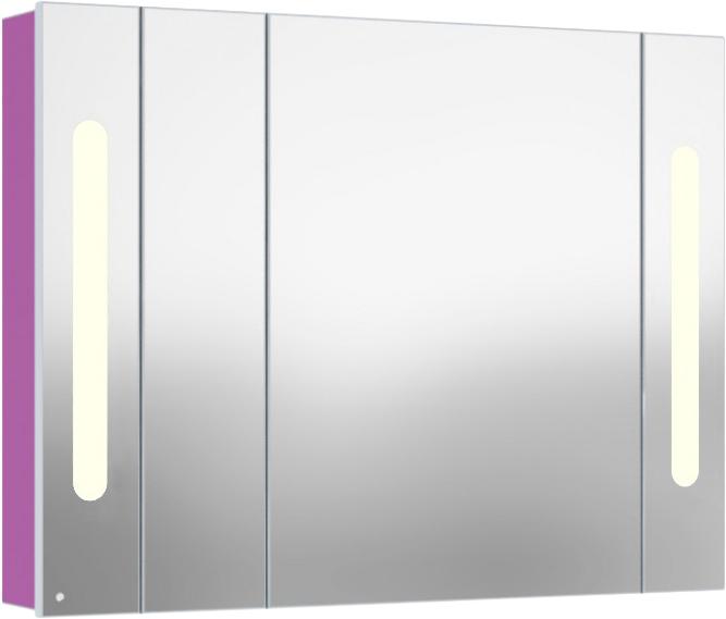 Inova 105 подвесной (правый) Темный венгеМебель для ванной<br>В цену входит подвесной зеркальный шкаф Gemelli Inova. Все комплектующие приобретаются отдельно.<br>