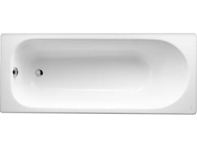 Jacob Delafon Soisson 150 ExclusiveВанны<br>Чугунная ванна с гидромассажем Jacob Delafon Soisson 150 без ручек и слива перелива.<br>Комплектация Exclusive: гидромассаж 6 форсунок, аэромассаж 10 форсунок, система хромотерапии, поворотный электронный пульт управления с жидкокристаллическим информационным дисплеем, функция очистки системы продувкой, система защиты от сухого пуска, защита от перегрева, таймер, датчик температуры воды, электронная регулировка мощности гидро - и аэромассажа, пульсирующий режим работы гидро - и аэромассажа.<br>