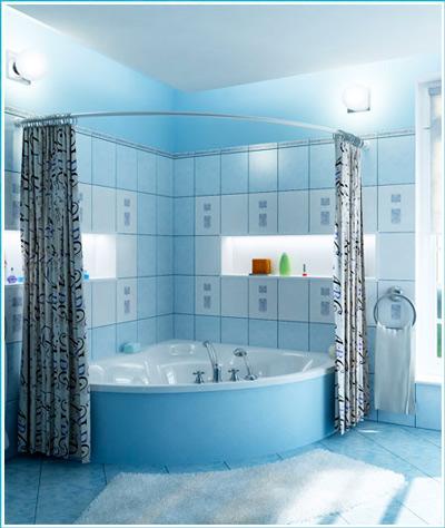 полукруглый хромАксессуары для ванной<br>Карниз полукруглый хром. Длинна до 3 метров.<br>