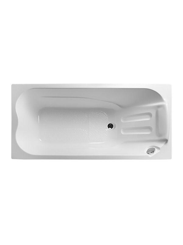 Sicilia   БелаяВанны<br>Акриловая ванна 1Marka Sicilia 150х70. Стоимость указана за ванну без гидромассажа, каркаса, слива-перелива, фронтальной и торцевой панели.<br>