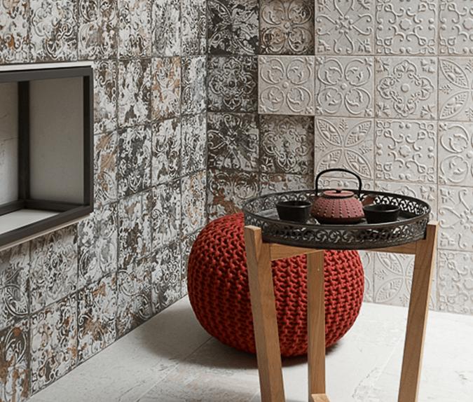 Керамическая плитка Aparici Aged White Ornato 20х20 настенная керамическая плитка aparici femme ornato 31 6x95 3 настенная
