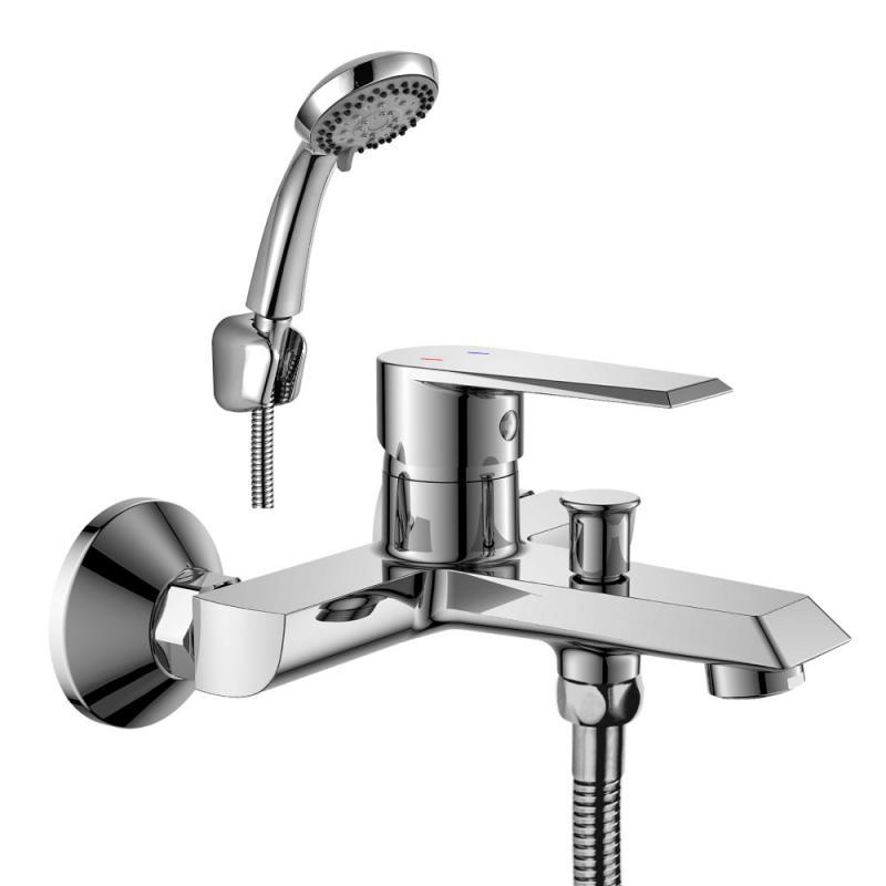 Смеситель для ванны Rossinka RS28-31 Хром
