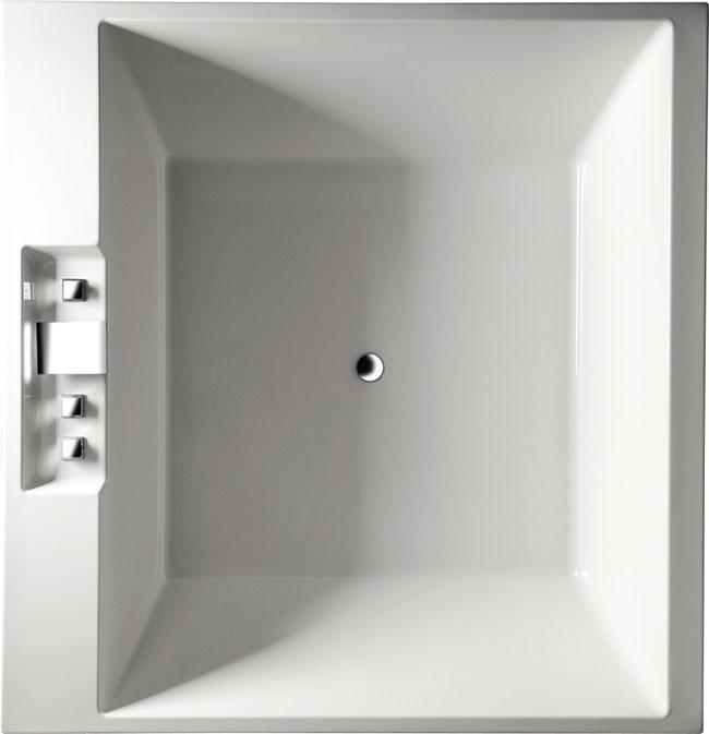 Came 175x175 23611 БелаяВанны<br>Ванна квадратная 175х175см Alpen Came изготовлена из 100% акрилового листа, прочного и удобного в уходе.<br>