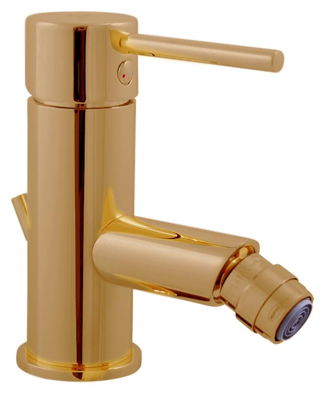 Seina SE945.5Z золотойСмесители<br>Смеситель для биде Rav Slezak Seina SE945.5Z монолитный, однорычажный, с металлическим донным клапаном. Металлическая рукоятка. Аэратор Neoperl представляет собой ситечко антикальк с резиновой насадкой, специальная конструкция ситечка позволяет экономить расход воды и упрощает чистку известкового налёта. Качественный керамический картридж 35 мм Kerox, производство Венгрия, гарантирует долговечность и мягкий поток воды. Гибкая подводка G1/2, длиной 350 мм. В комплекте смеситель, гибкая подводка и крепления.<br>