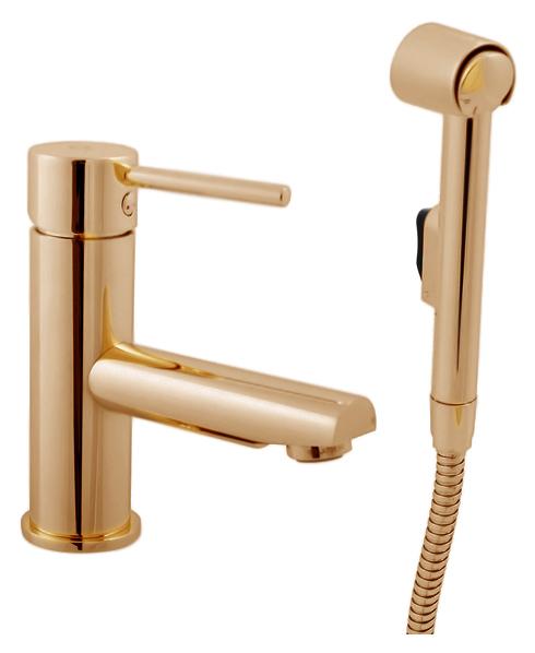 Seina SE946.5Z золотойСмесители<br>Смеситель для раковины Rav Slezak Seina SE946.5Z монолитный, однорычажный, с гигиеническим душем. Металлическая рукоятка. Аэратор Neoperl представляет собой ситечко антикальк с резиновой насадкой, специальная конструкция ситечка позволяет экономить расход воды и упрощает чистку известкового налёта. Качественный керамический картридж 35 мм Kerox, производство Венгрия, гарантирует долговечность и мягкий поток воды. Гибкая подводка G1/2, длиной 350 мм. Душевая лейка с нажимной кнопкой. В комплекте смеситель, гибкая подводка, душевая лейка, настенный держатель для лейки, шланг и комплект крепления.<br>
