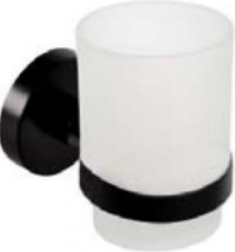 Dark 104110010 ЧёрныйАксессуары для ванной<br>Держатель для зубных щеток Bemeta Dark 104110010. Цвет изделия - черный.<br>